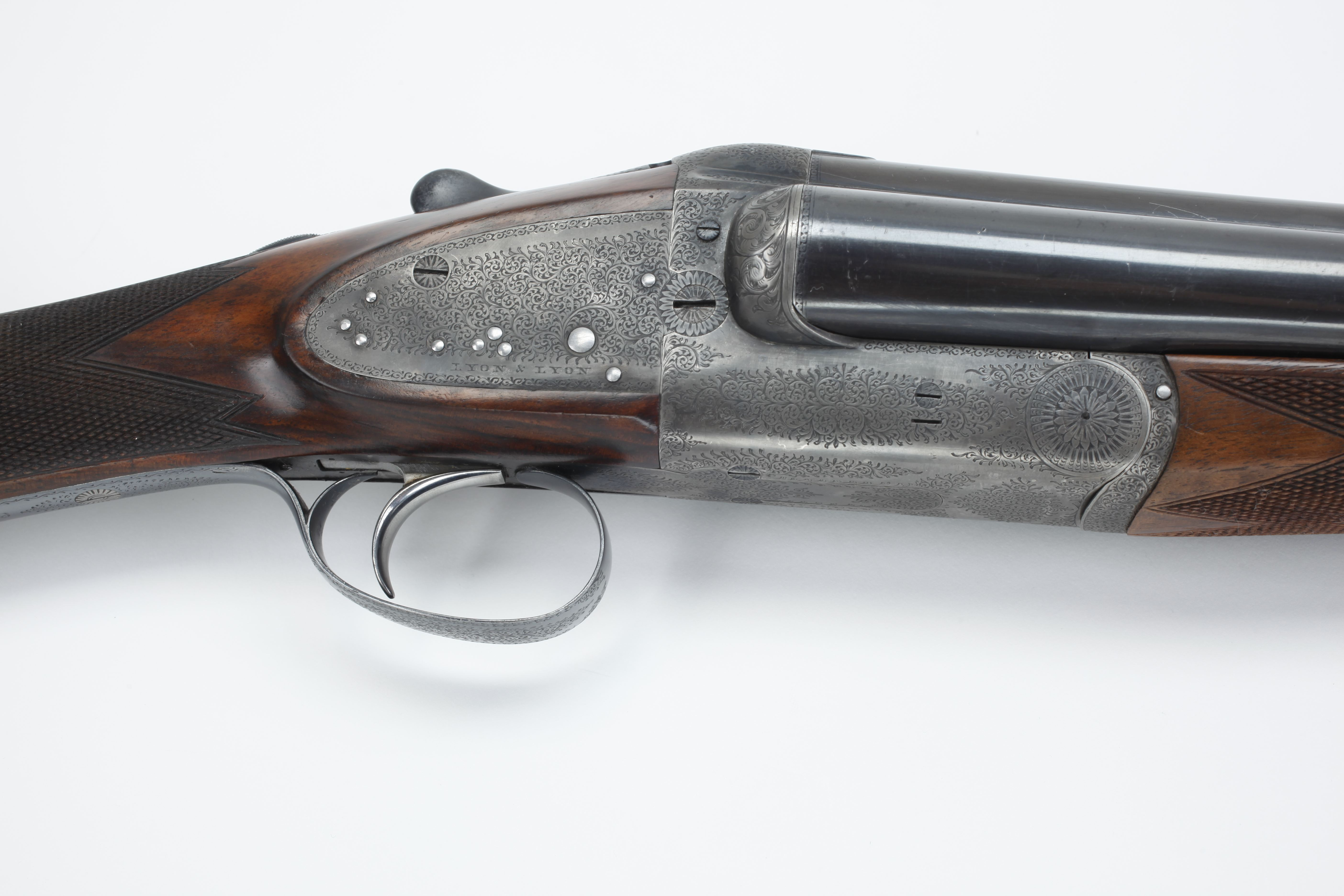Edwinson, Green & Sons Triling Three Barrel Shotgun - 12 ga.