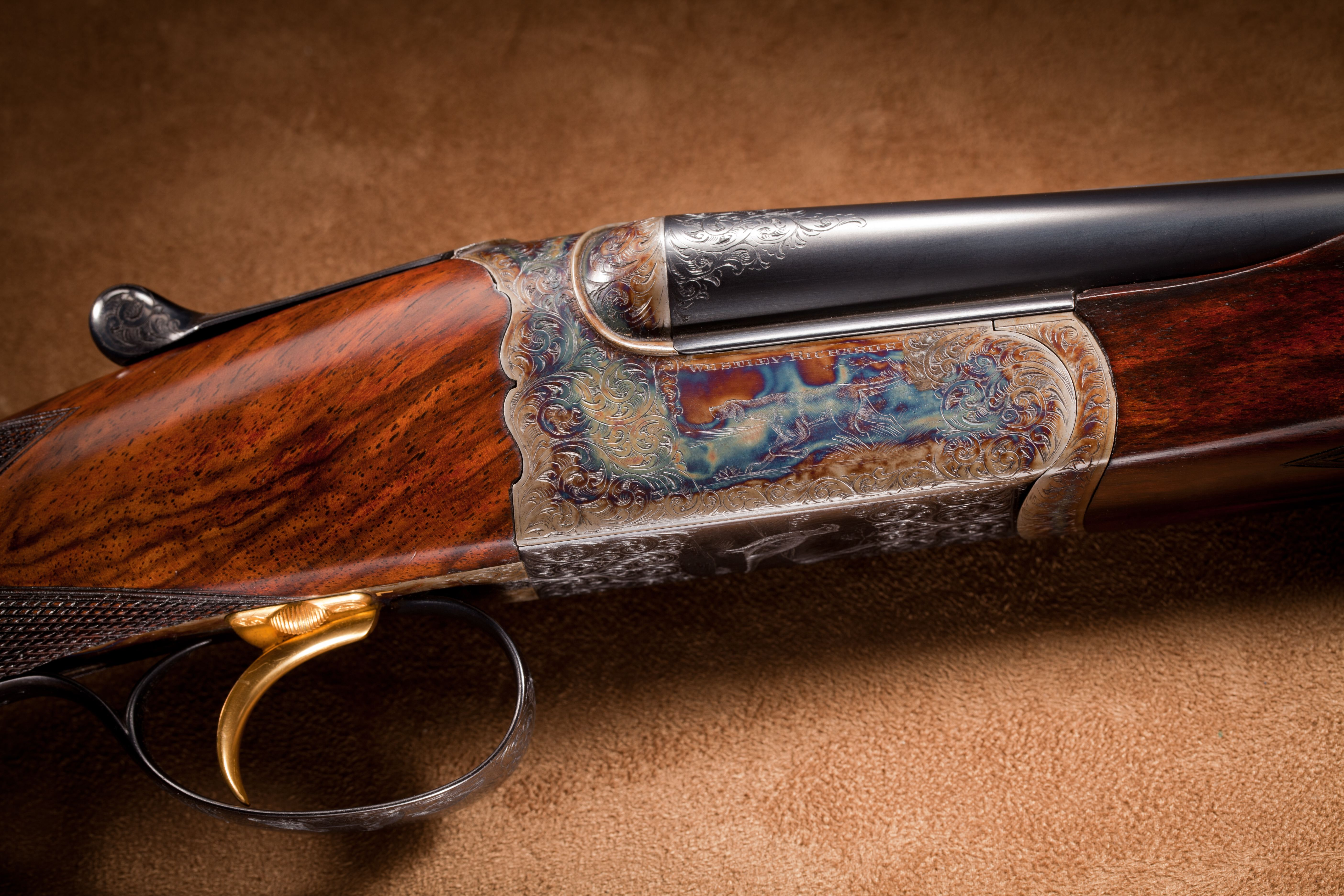 Westley Richards Brown Brothers Engraved Side by Side Shotgun - .410 ga.