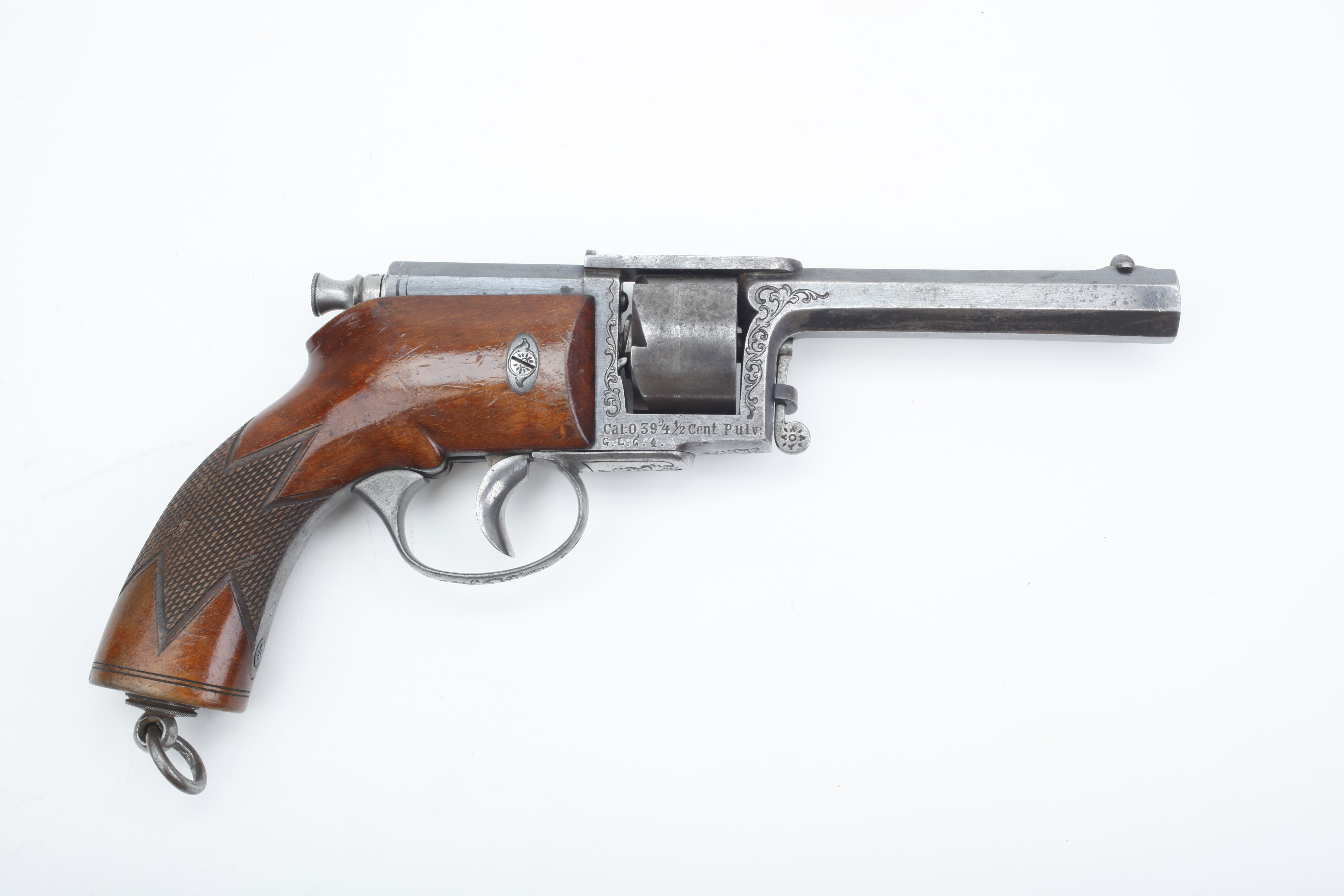 Dreyse Needle Fire Revolver - .45 cal.