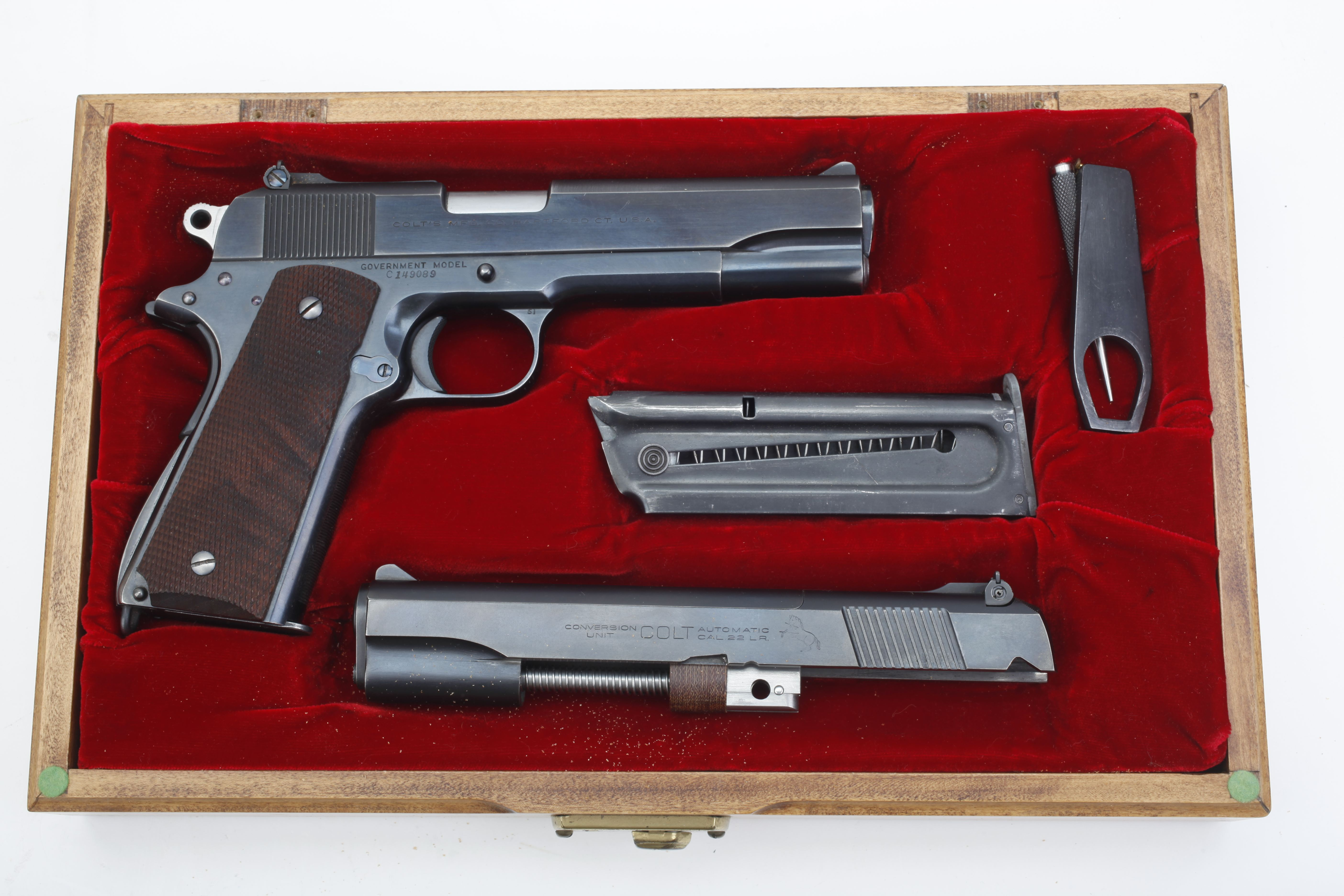 Colt Government Model Pistol - .45 ACP cal.