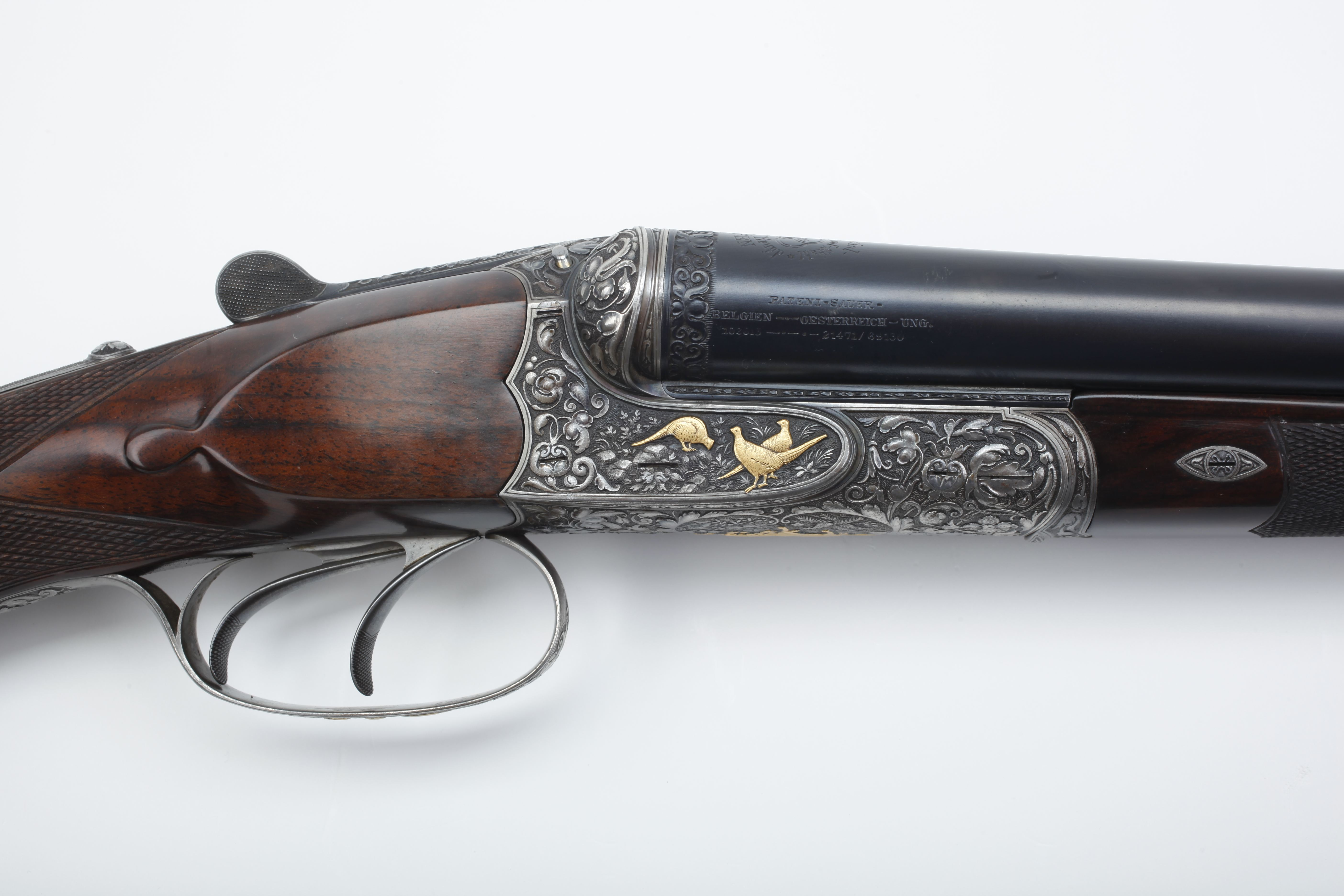 Charles Daly Diamond Grade Side by Side Shotgun - 12 ga.