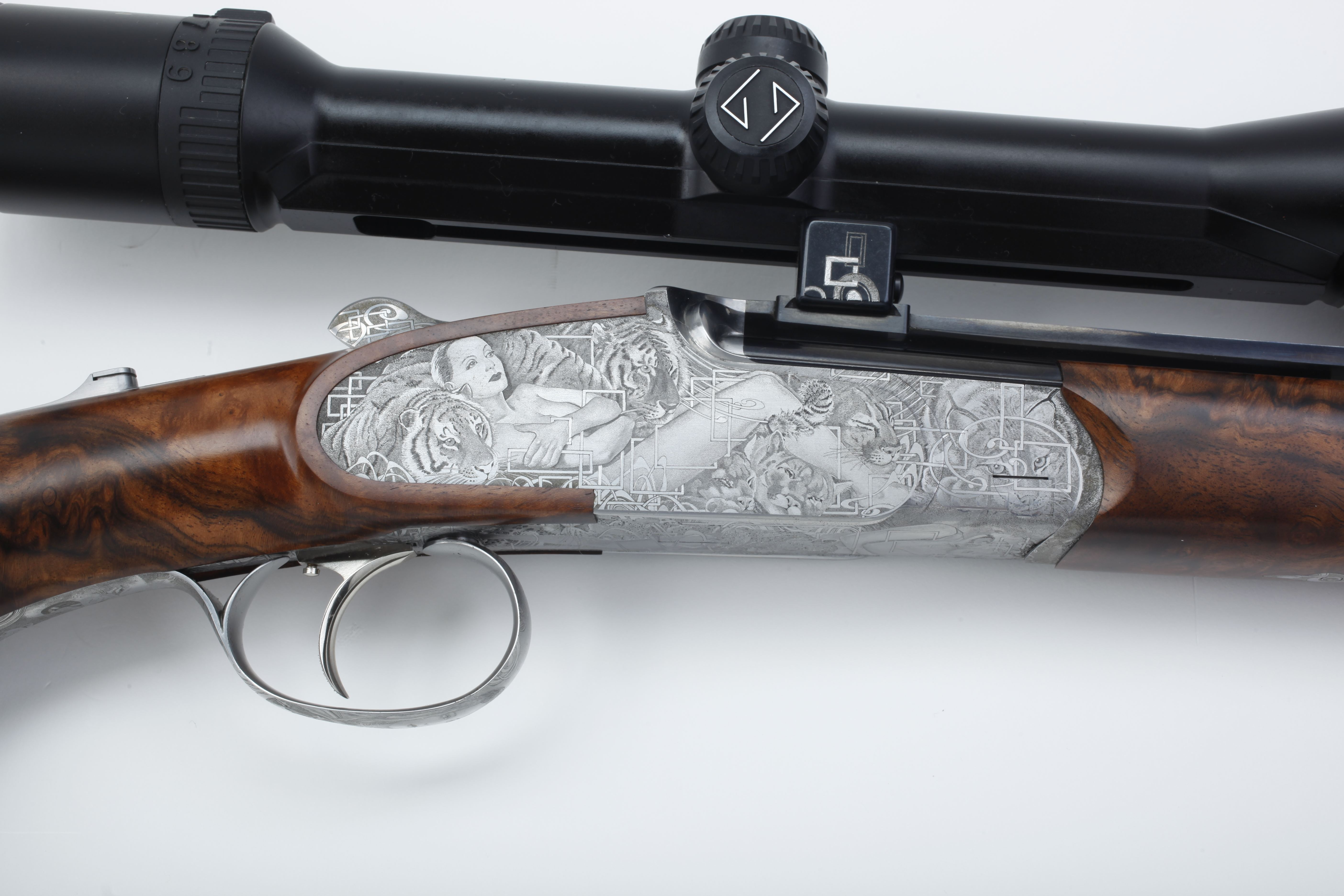 Peter Hofer Single Barrel Rifle - 6.5 x 65R cal.