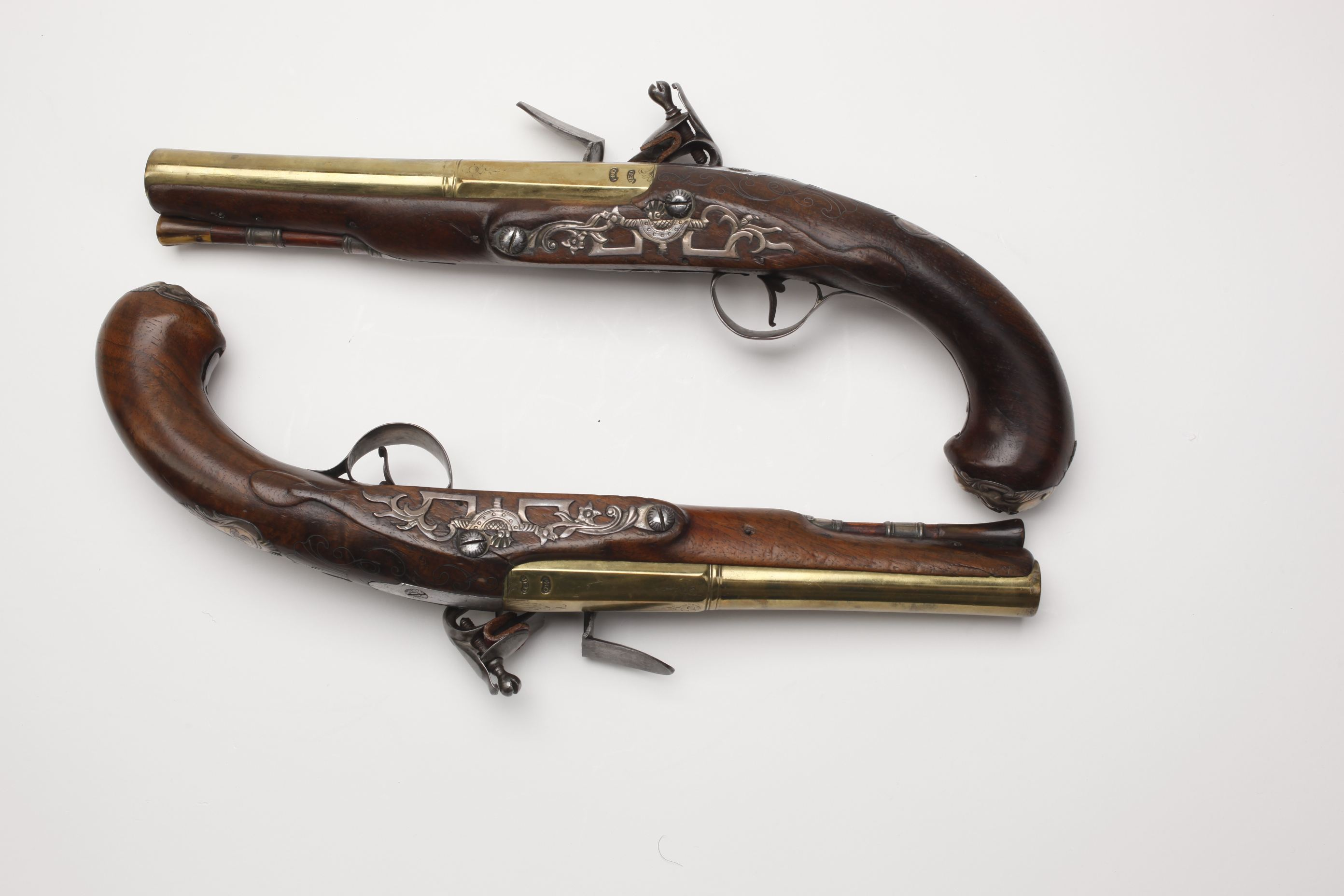French Officer's Flintlock Pistol