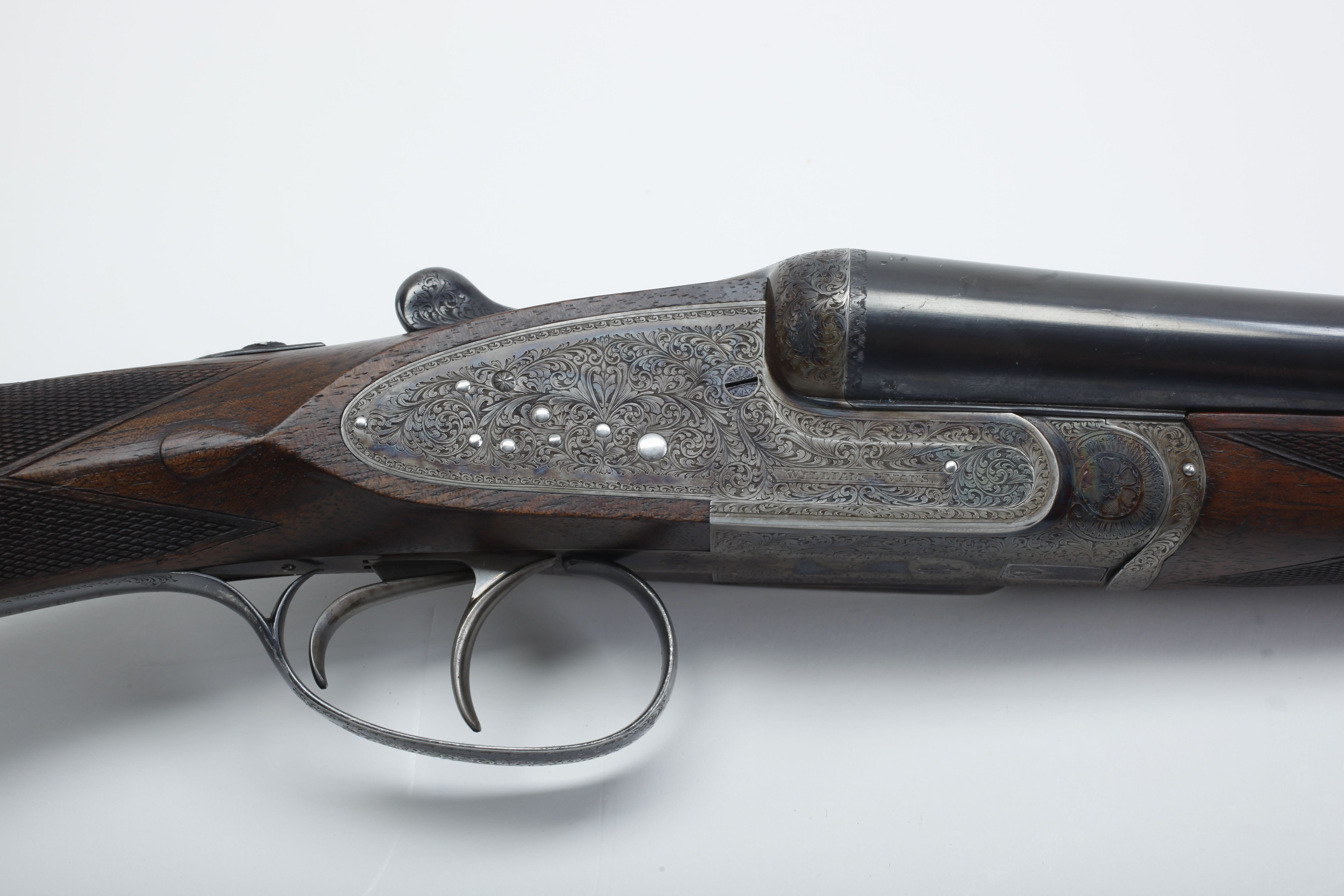 Evans Side-by-Side Shotgun