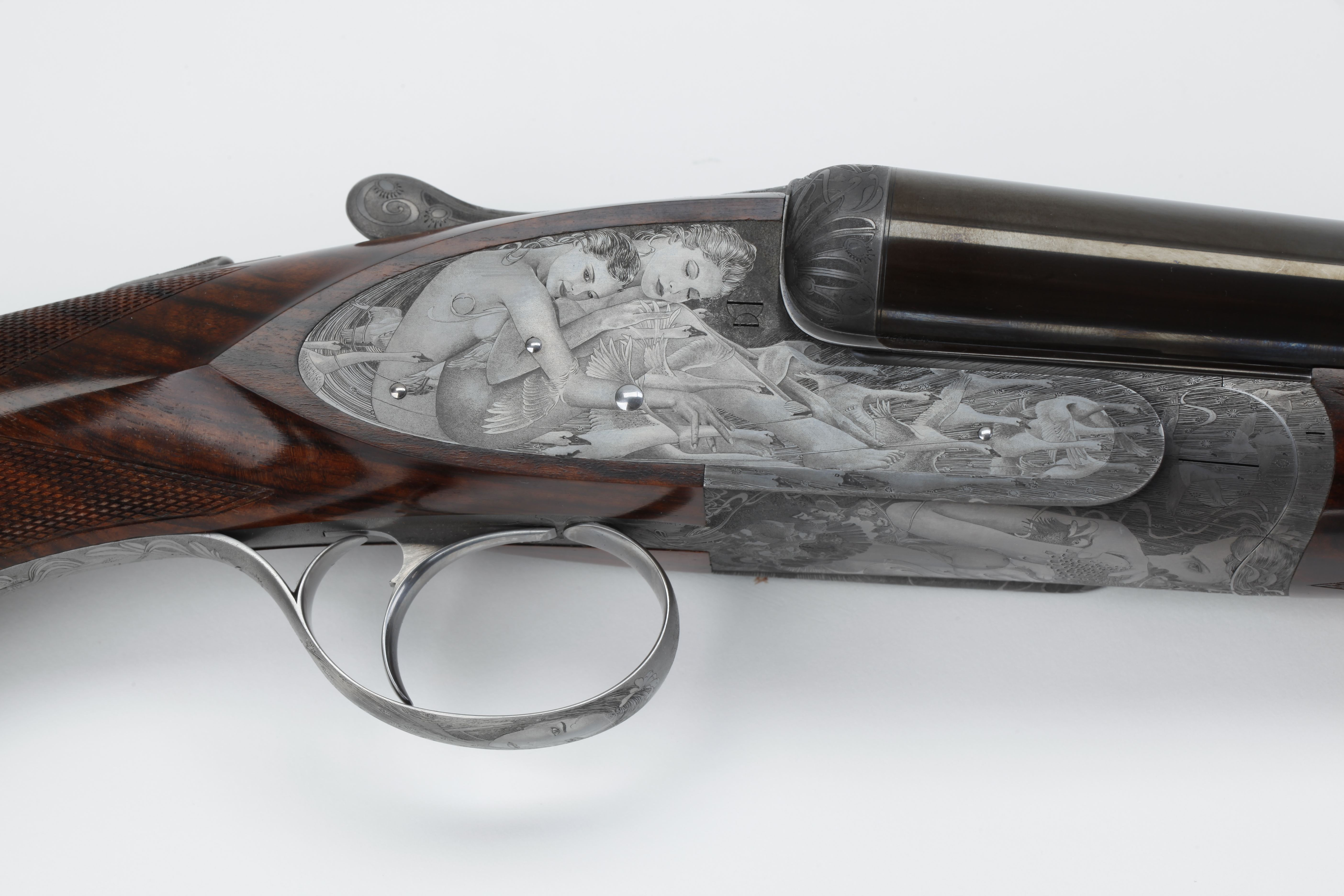 Rizzini Torcoli-engraved Side-by-side Shotgun