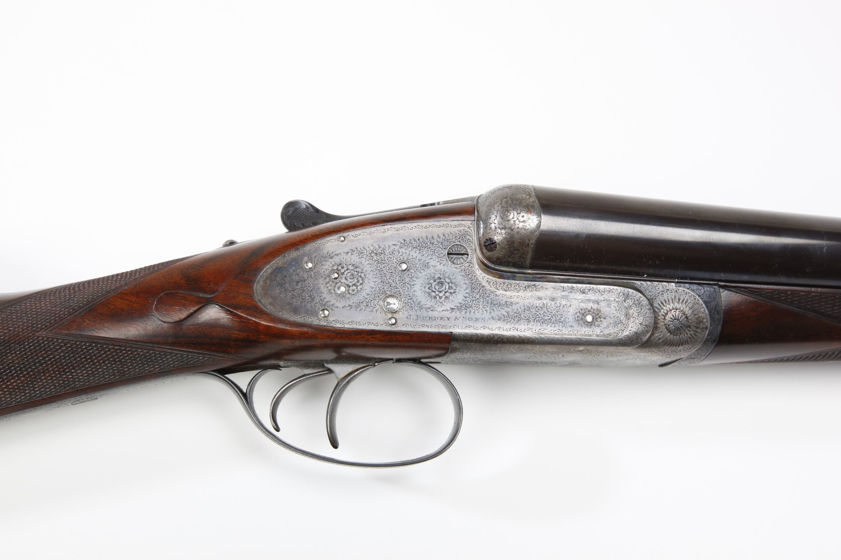 James Purdey & Sons Best-Grade Side-by-Side Shotgun