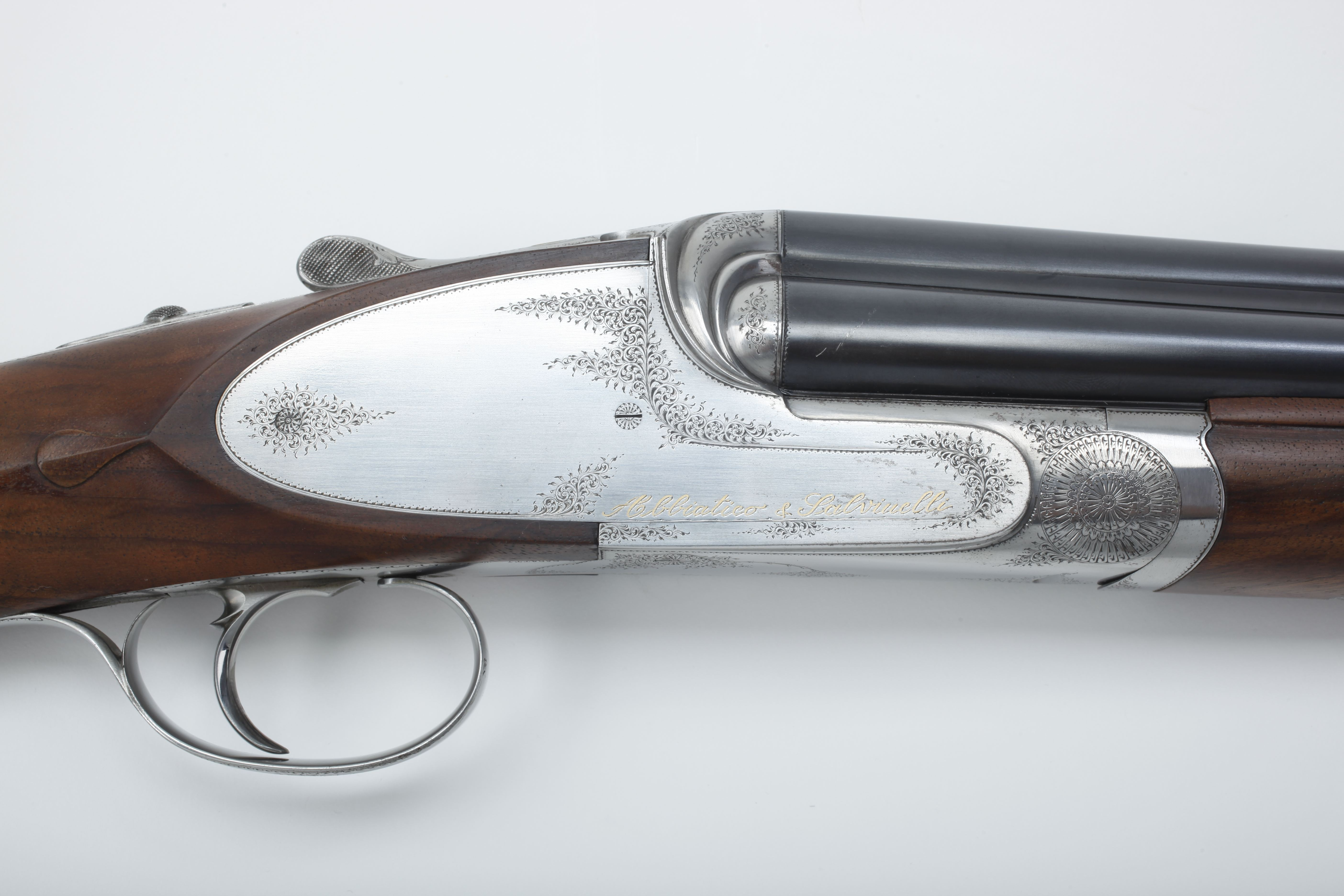 Abbiatico & Salvinelli G. Sabatti-engraved Side-by-side Shotgun