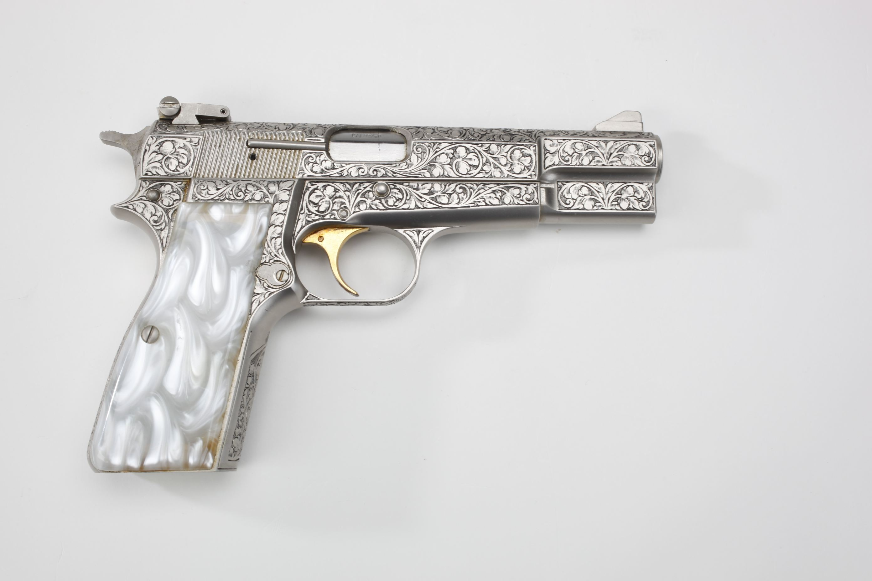 Browning  Renaissance Hi-Power Semi-Automatic Pistol