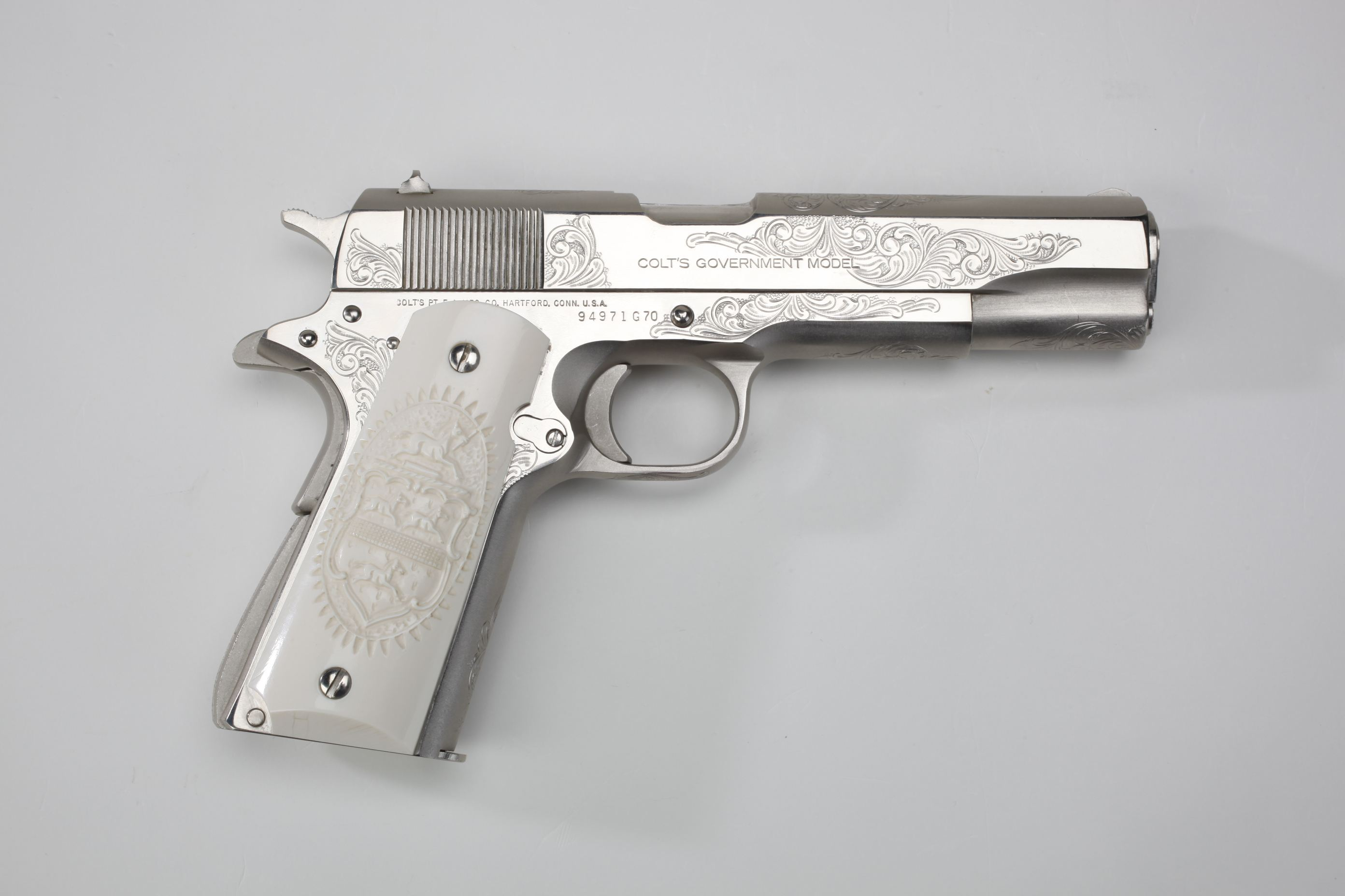 Colt (Hartford, CT) Mark IV Series 70 Semi-Automatic Pistol
