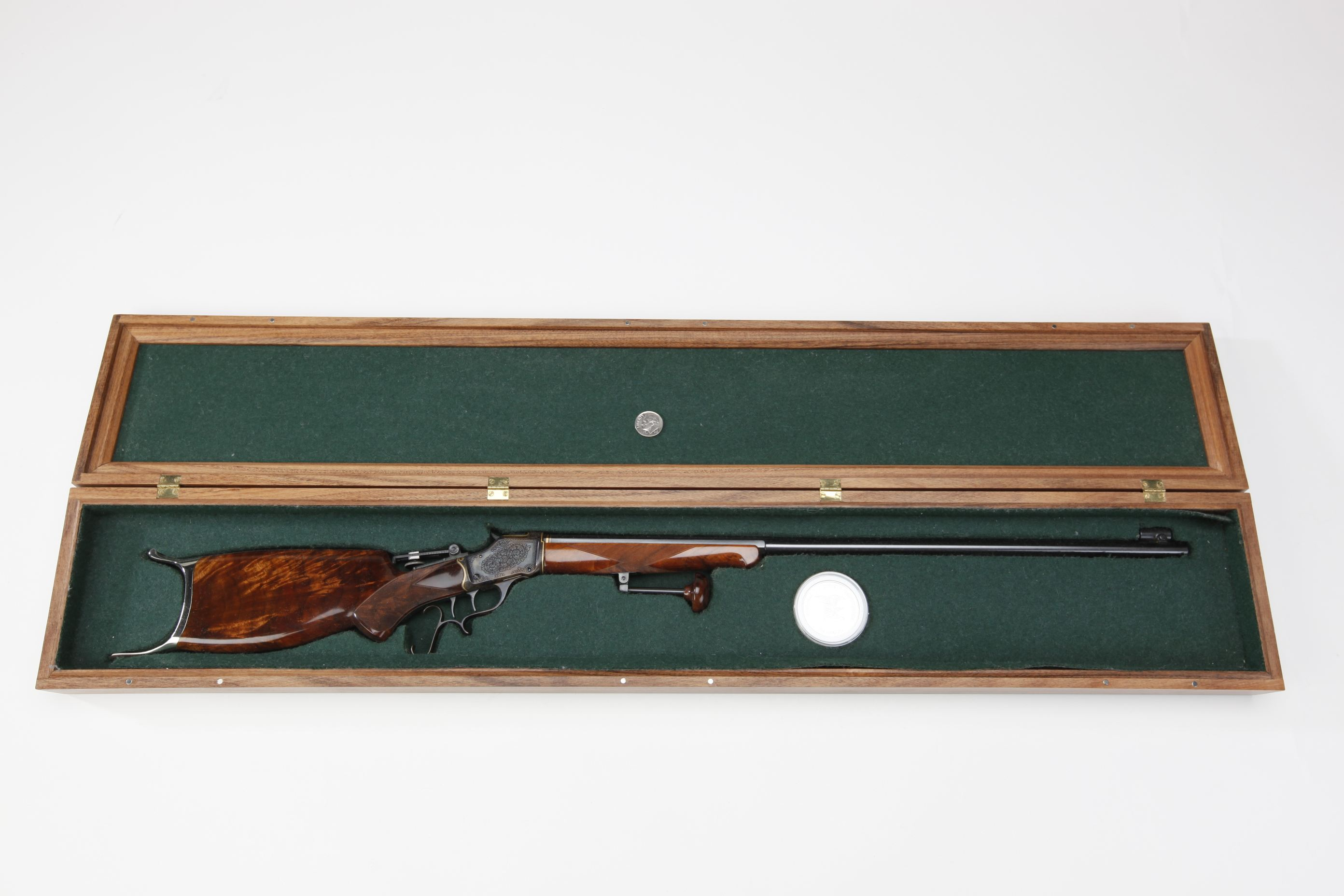 Miniature Winchester Model 1885 Single Shot Rifle
