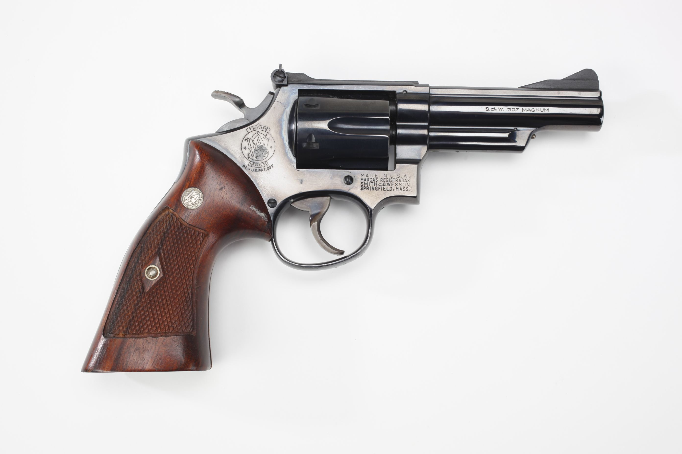 Smith & Wesson Model 19 Combat Magnum Revolver