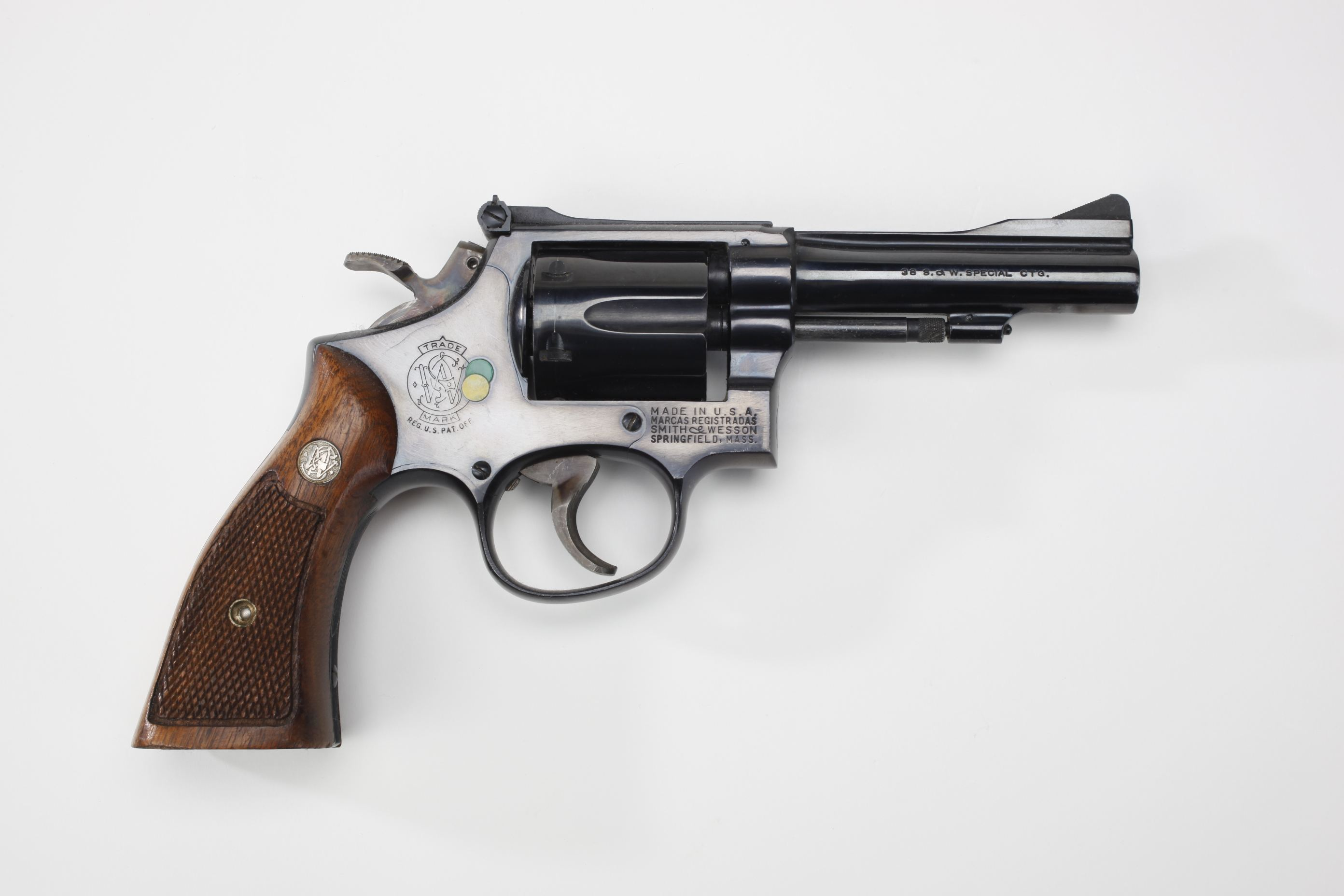Smith & Wesson Model 15 Combat Masterpiece Revolver