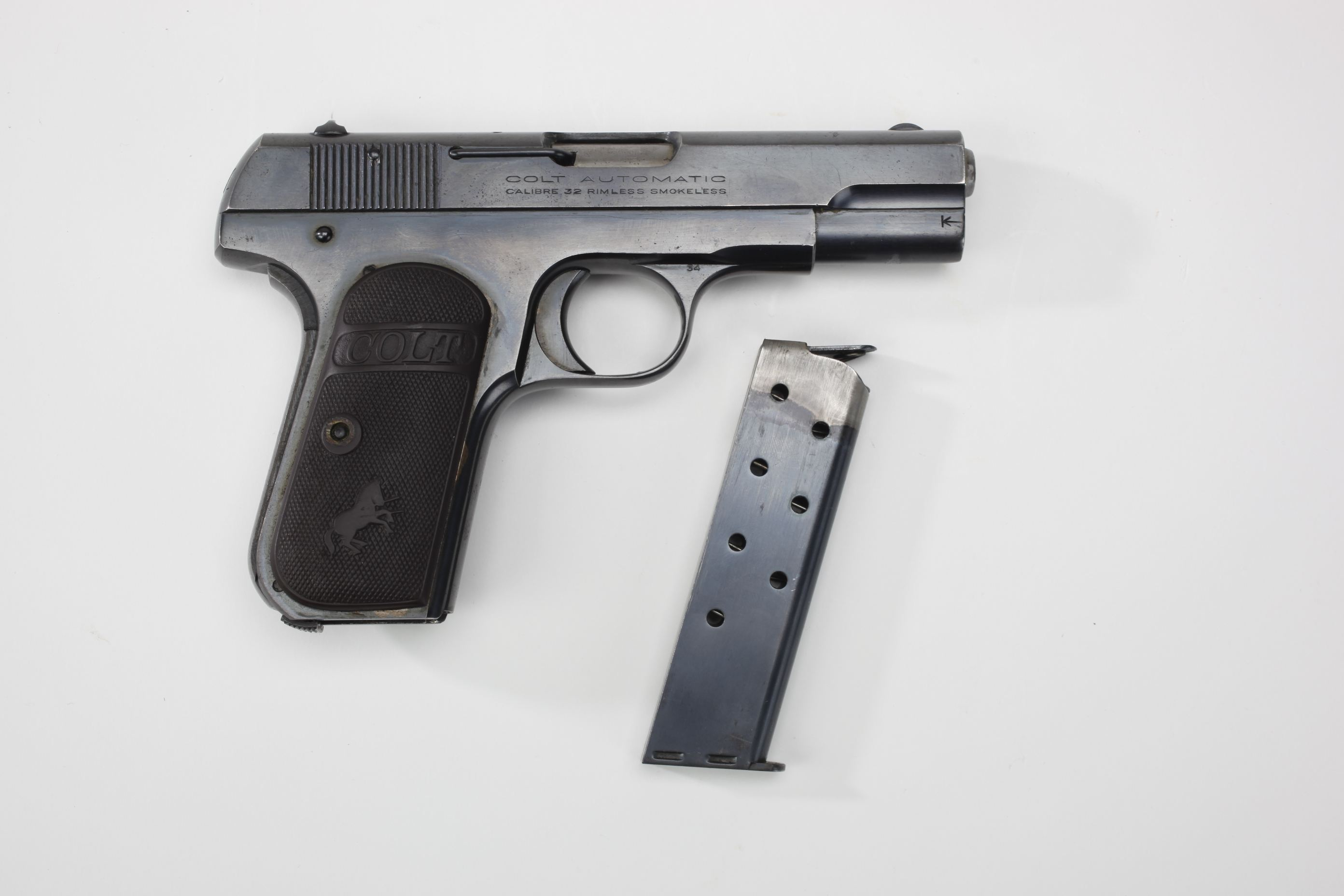 Colt Model 1903 Hammerless 32 Pocket Auto Pistol 3rd Type