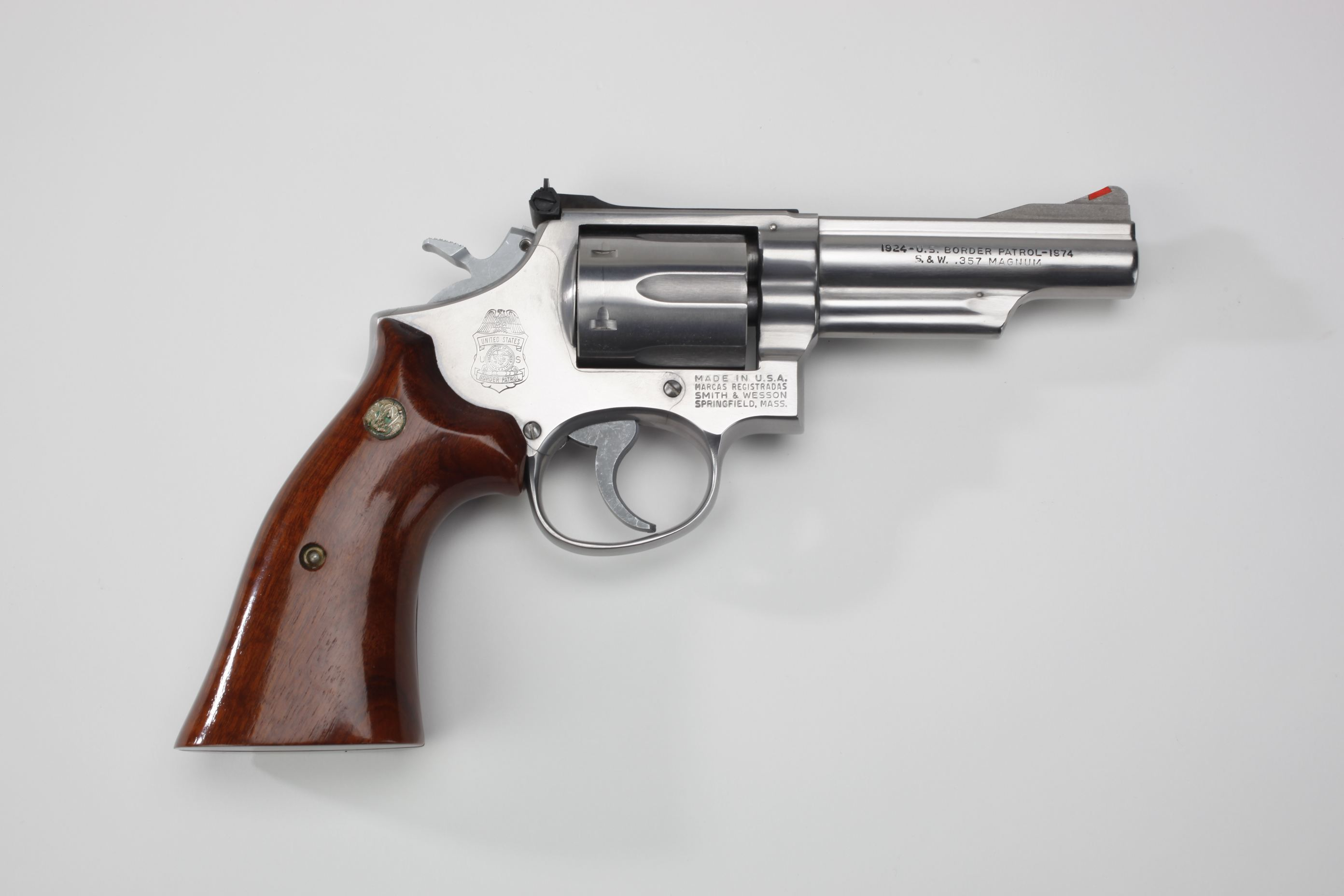 Smith & Wesson Model 66 U.S. Border Patrol Commemorative Revolver