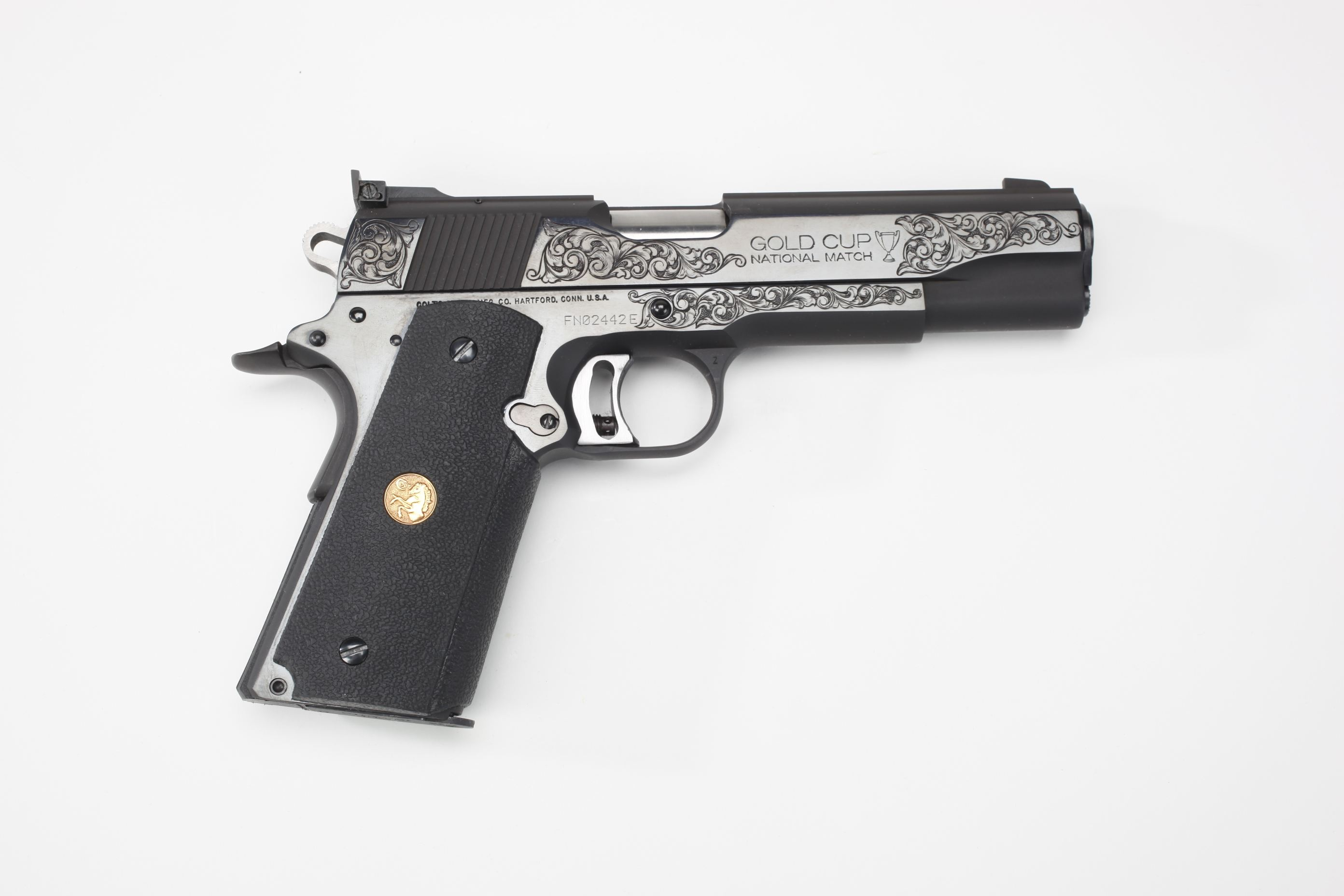 Colt Gold Cup Pistol 1993 Harry Reeves Trophy