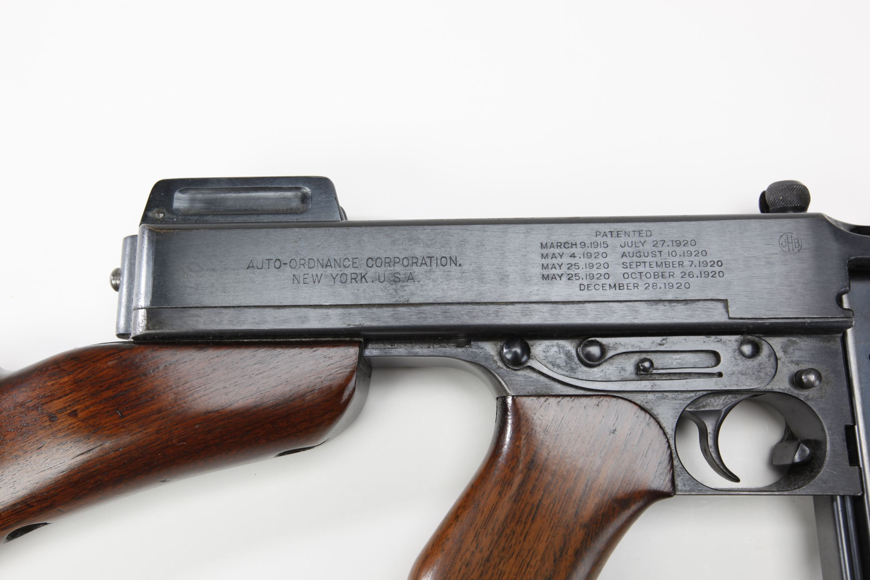 Mint Thompson Submachine Gun