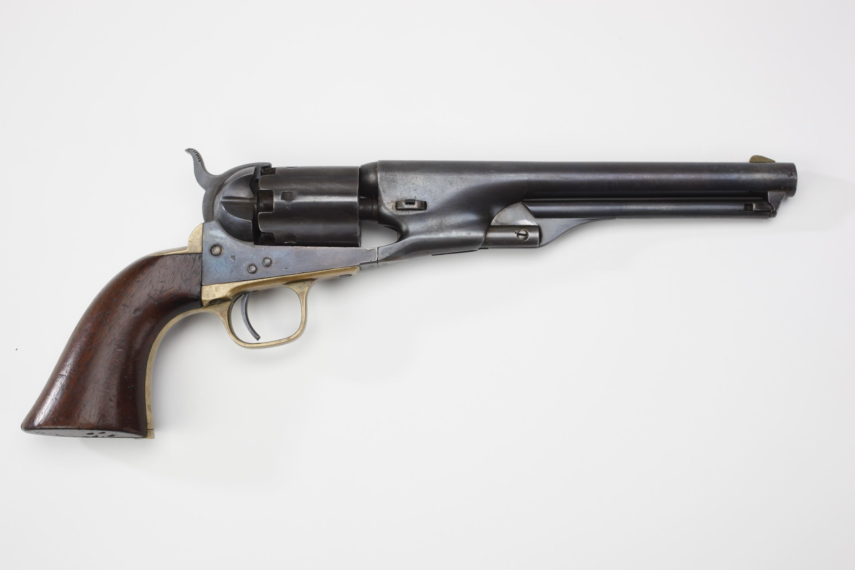 Fake Colt Model 1861 Navy Fluted Cylinder