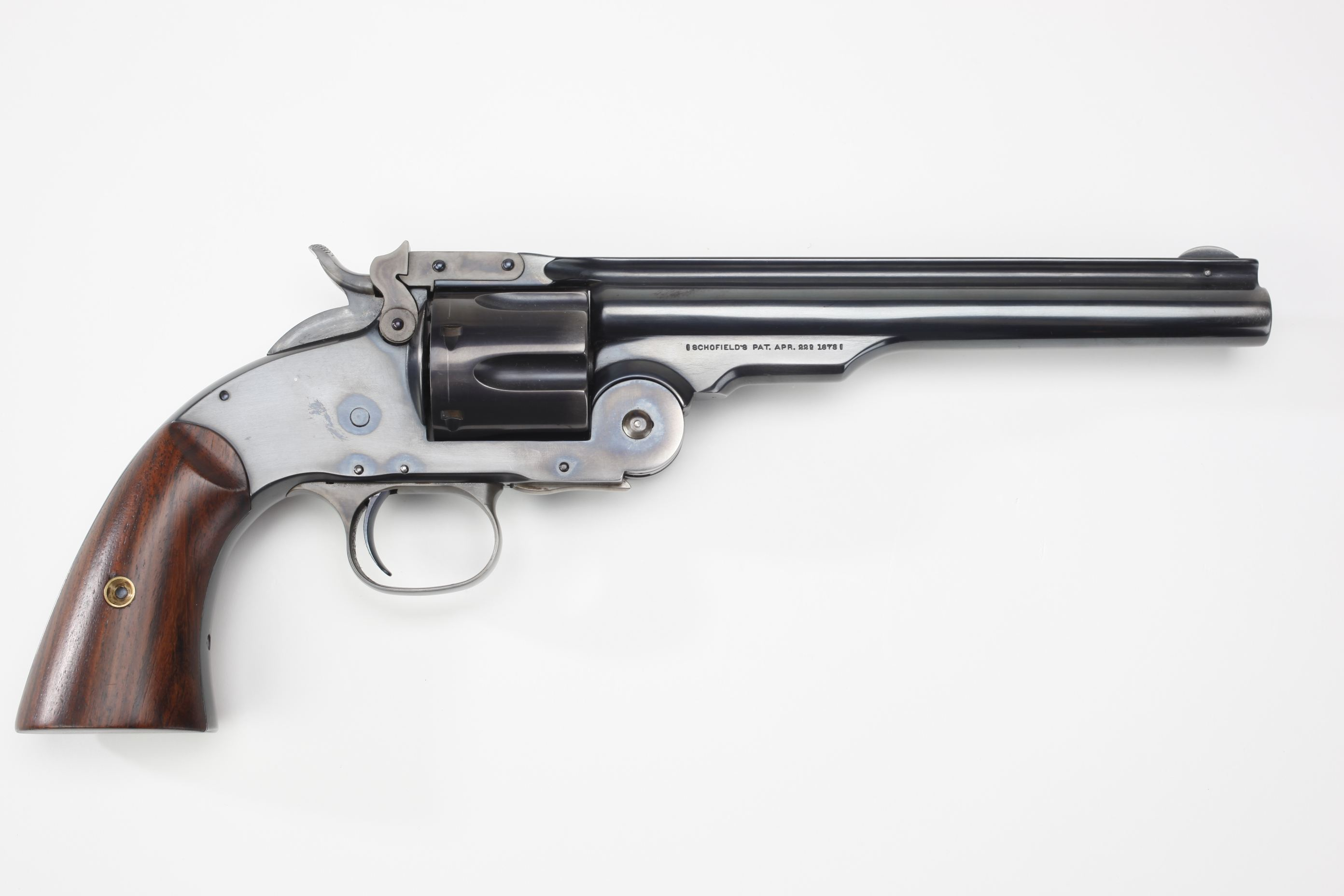 Tom Selleck SandW Schofield revolver