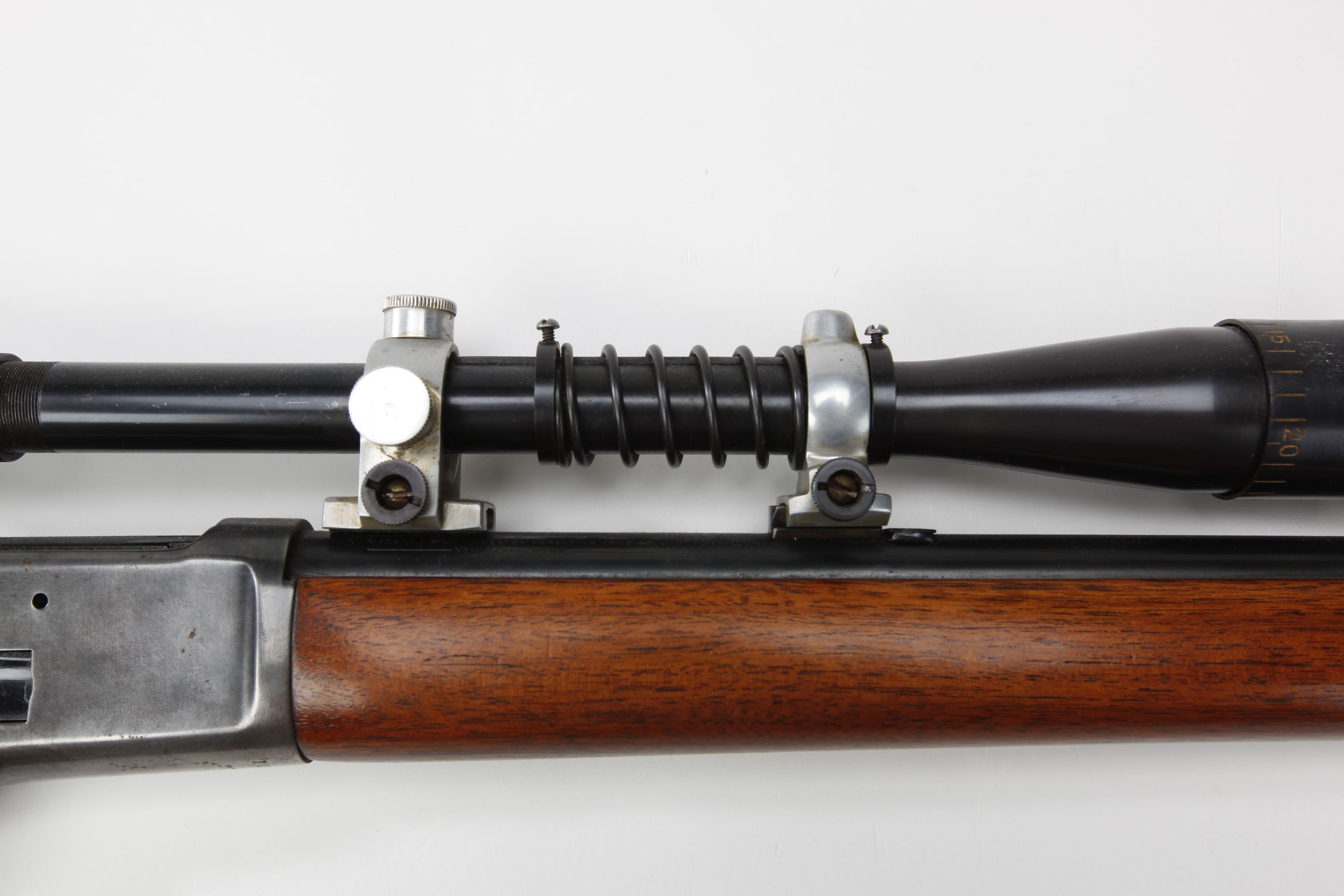 Winchester Model 65 Lever Action Rifle with Edwards telescopic sight