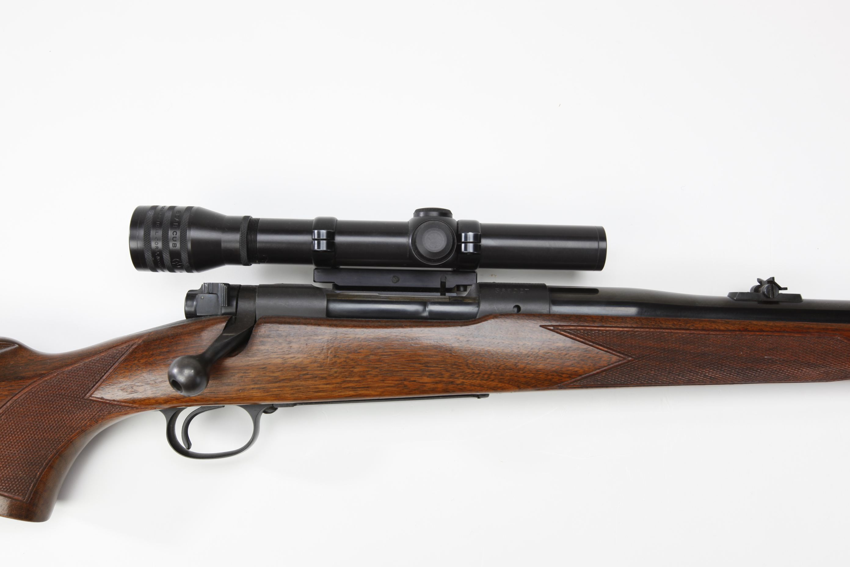 Winchester Model 70 Bolt Action Rifle w Kollmorgen telescopic sight
