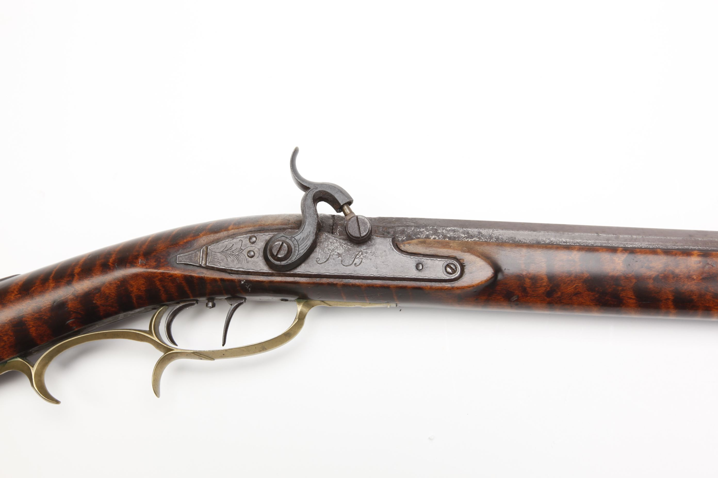 John Border (Bedford, PA) Pennsylvania/Kentucky Percussion Rifle