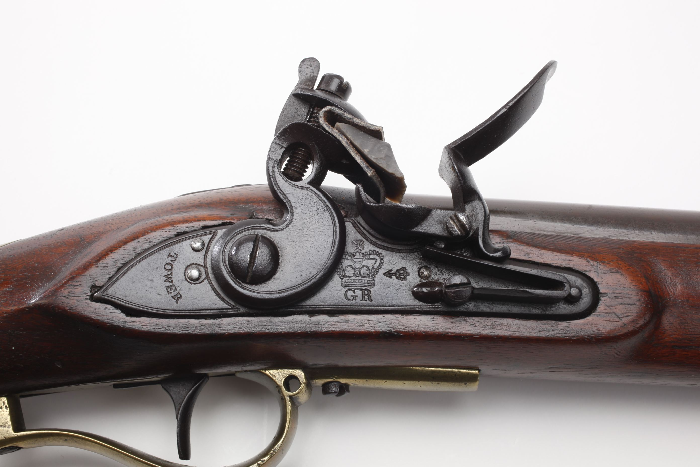 J. Baker Flintlock Rifle