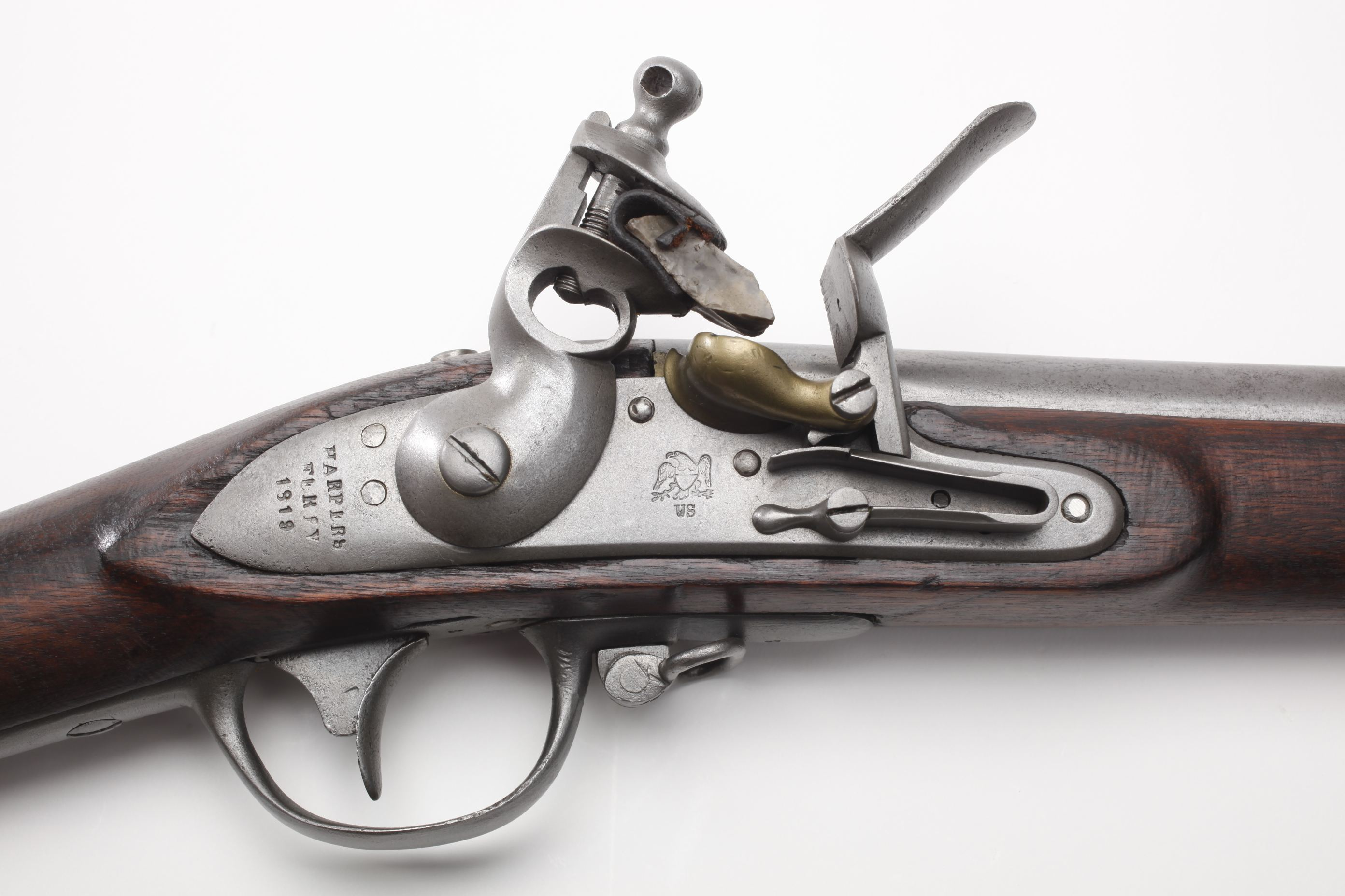 U.S. Harpers Ferry Model 1816 Flintlock Musket