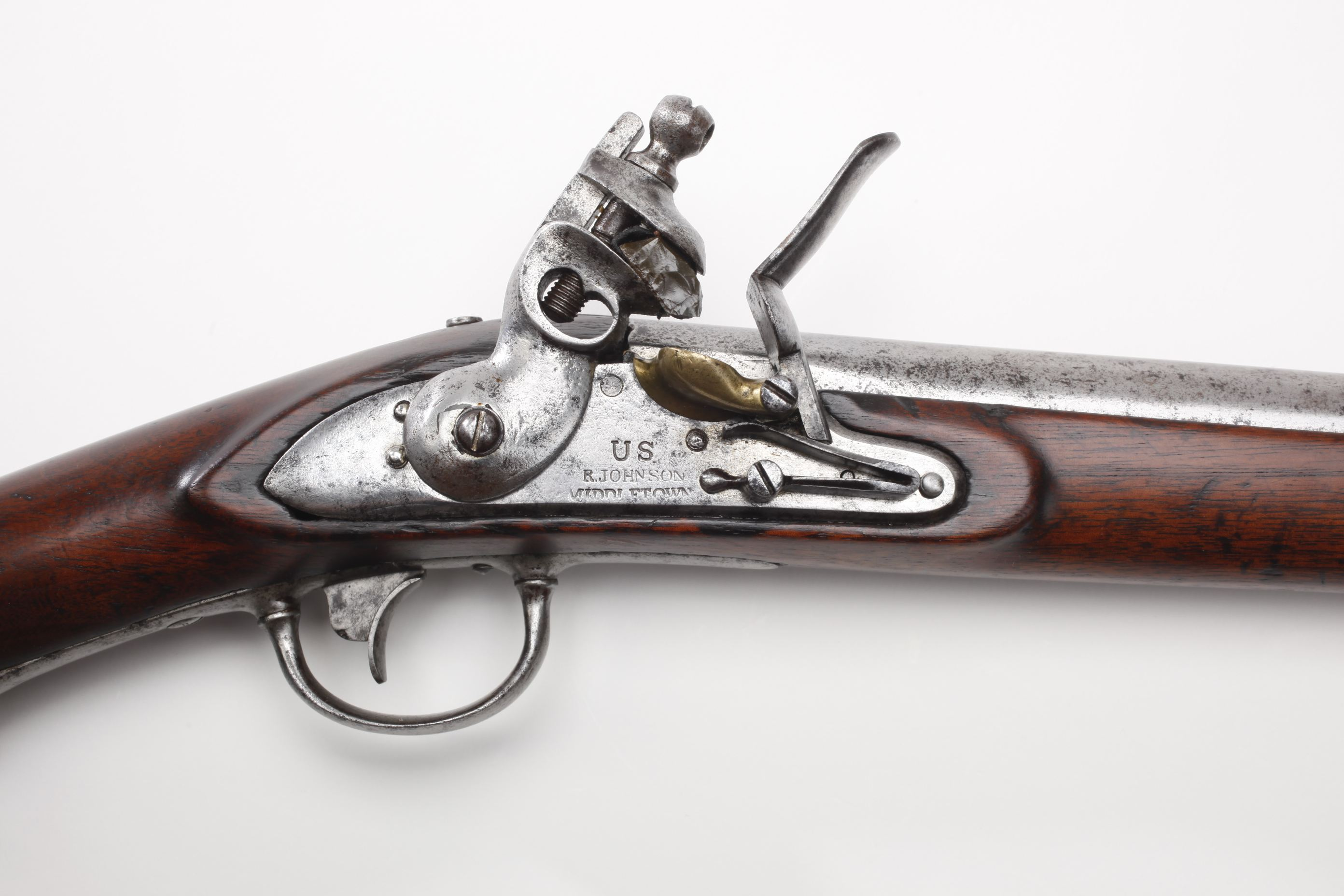 U.S. Robert and J. D. Johnson 1817 Common Rifle