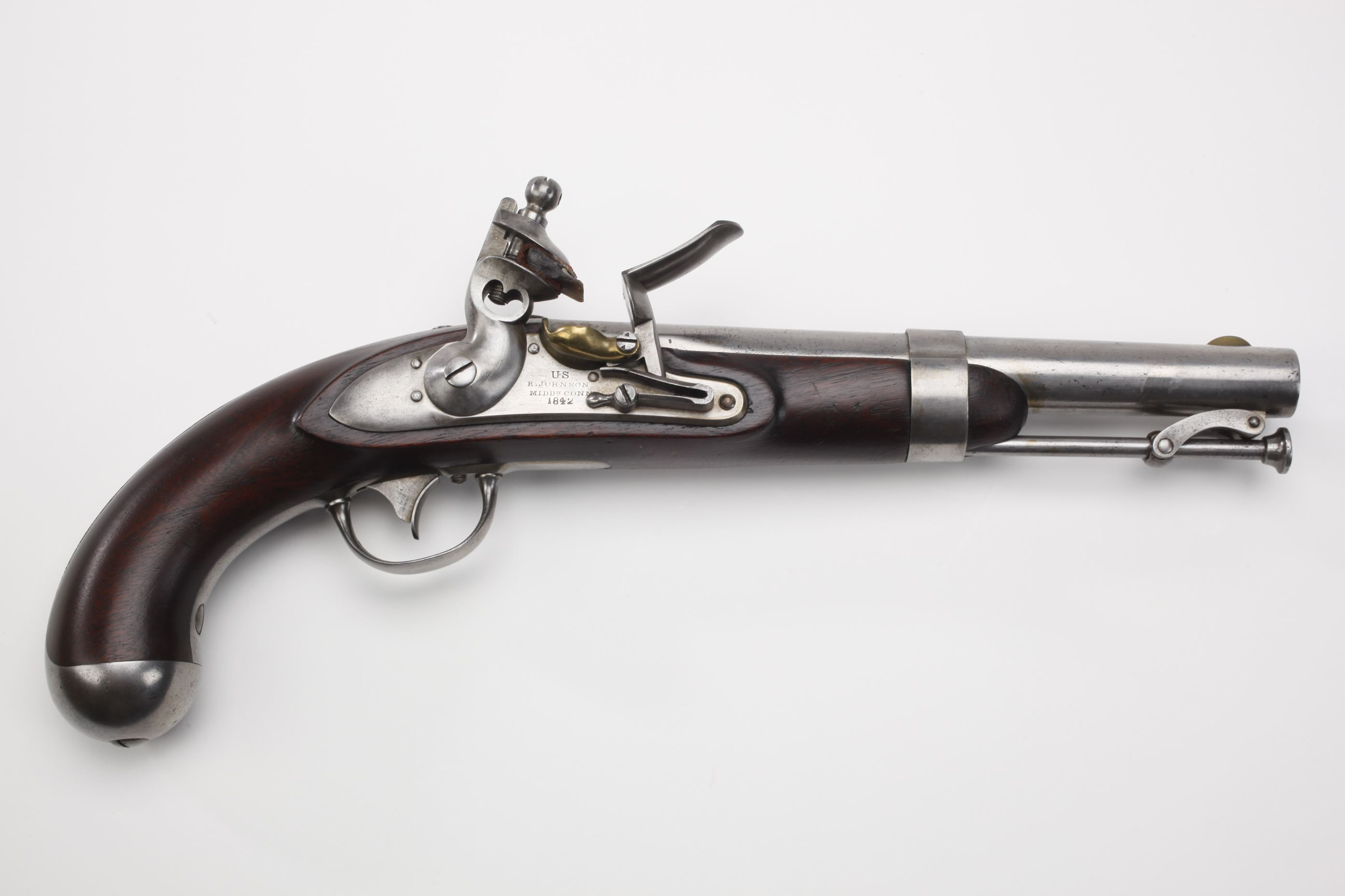 U.S. Robert Johnson Model 1836 Flintlock